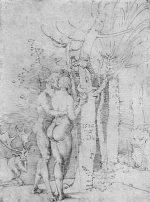 Albrecht Durer - Adam and Eve 4