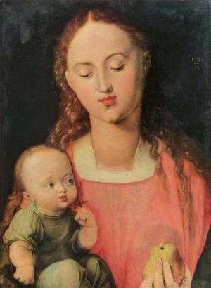 Albrecht Durer - Maria with child