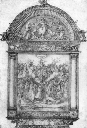 Albrecht Durer - Design for All Saints picture
