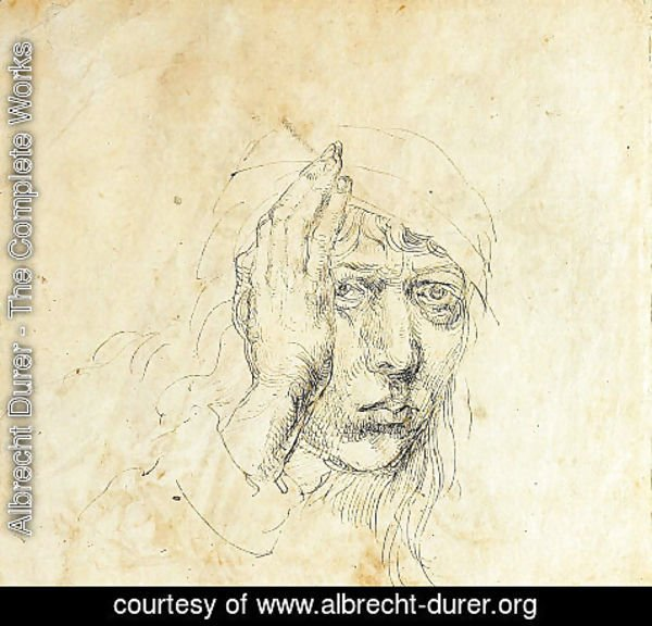 Albrecht Durer - Self-Portrait with a wrap