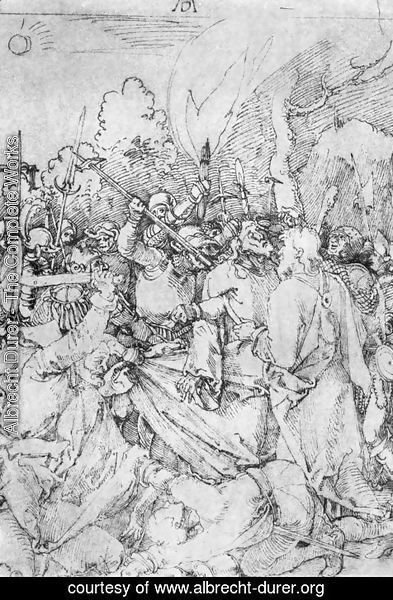Albrecht Durer - Arrest of Christ 2