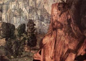 Albrecht Durer - The Lady of the festival du Rosaire(fragment) 2