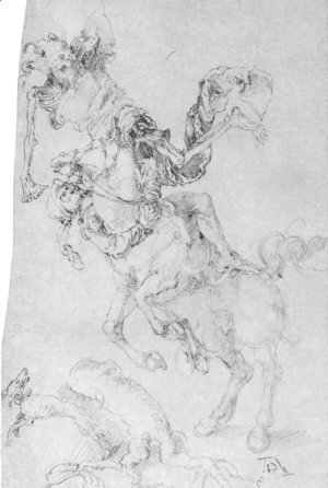 Albrecht Durer - Death and rider