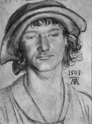 Albrecht Durer - Portrait of an eighteen year old man