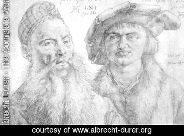 Albrecht Durer - Portrait of Paul Martin and the Topler Pfinzig