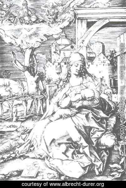 Albrecht Durer - Mary at the gate