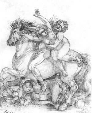 Albrecht Durer - Abduction