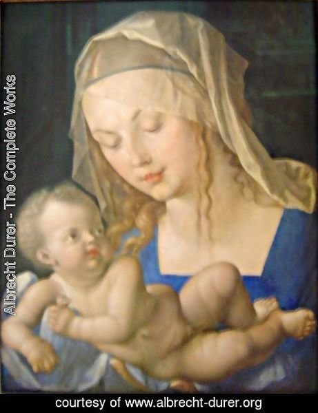 Albrecht Durer - Mary and child
