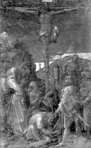 Albrecht Durer - Christ on the Cross 3