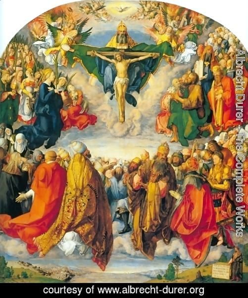 Albrecht Durer - All Saints picture