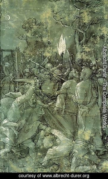 Albrecht Durer - The Arrest of Christ