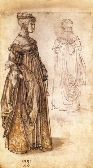 Albrecht Durer - Two Venetian women