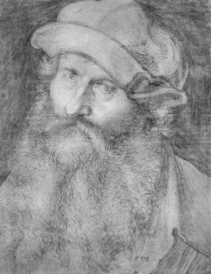 Portrait of a man (John Stabius)
