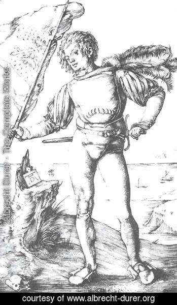 Albrecht Durer - The banner swinger