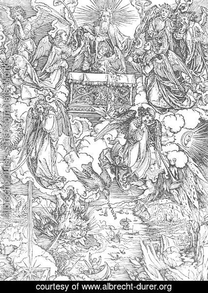 Albrecht Durer - The Seven Trumpets Are Given to the Angels