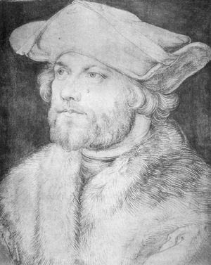 Albrecht Durer - Portrait of a Man (Damia van der Goes)