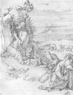 Albrecht Durer - Christ on the Mount of Olives 5