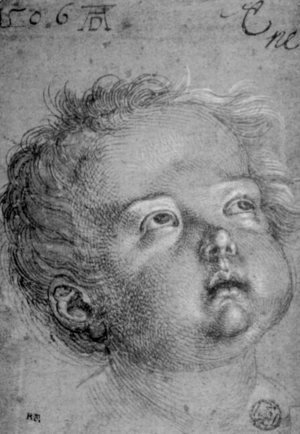 Albrecht Durer - Child's Head