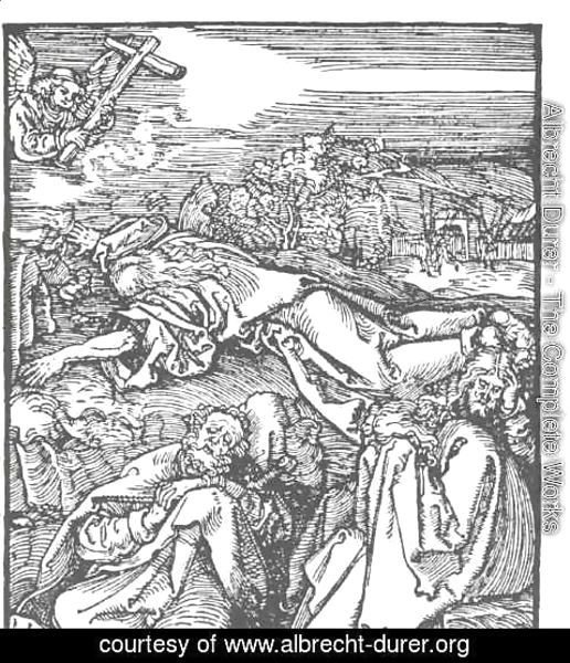 Albrecht Durer - Christ on the mount olive