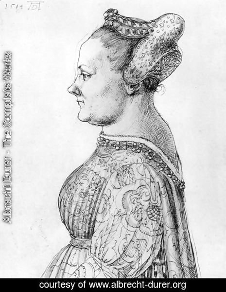 Albrecht Durer - Portrait of a Woman