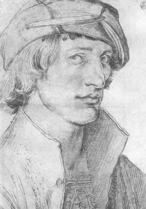 Albrecht Durer - Portrait of a Young Man 7