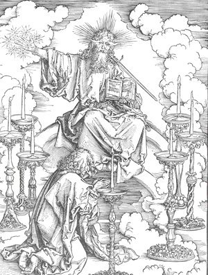 Albrecht Durer - St John's Vision of Christ and the Seven Candlesticks