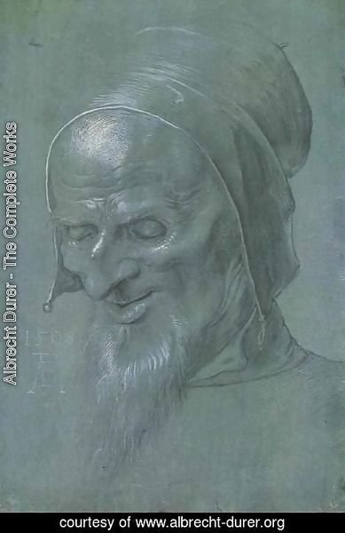 Albrecht Durer - Head of a apostle