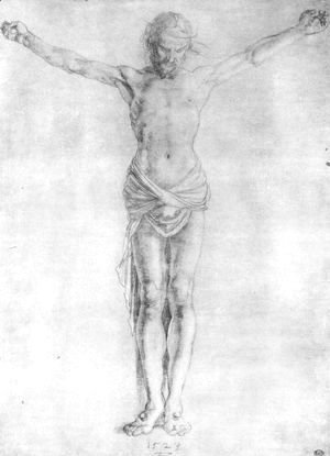 Albrecht Durer - Christ on the Cross 2