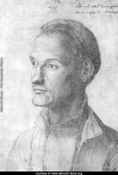 Portrait of Durer Endres, brother of the painter