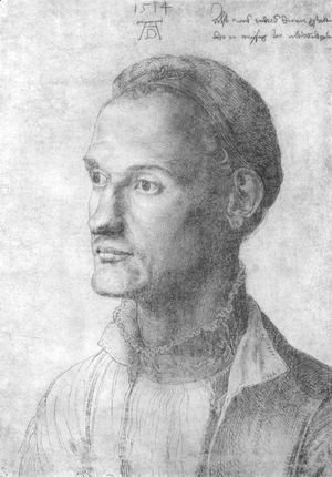 Albrecht Durer - Portrait of Durer Endres, brother of the painter