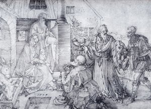 Albrecht Durer - The Adoration Of The Wise Men