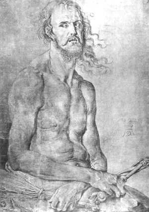Albrecht Durer - The Man Of Sorrows