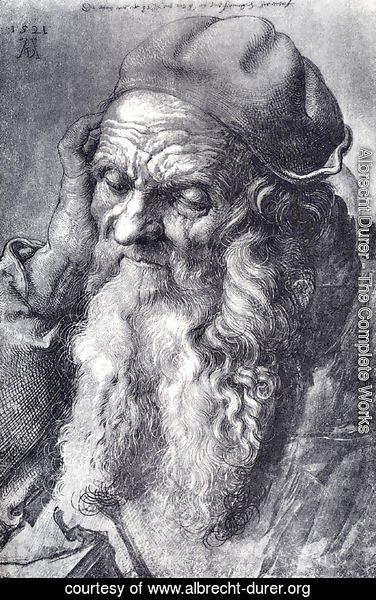 Albrecht Durer - Head Of An Old Man