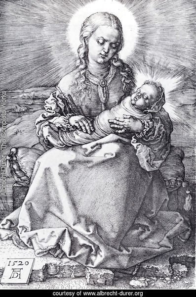 Madonna With The Swaddled Infant