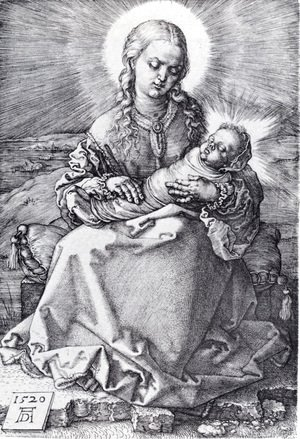 Albrecht Durer - Madonna With The Swaddled Infant