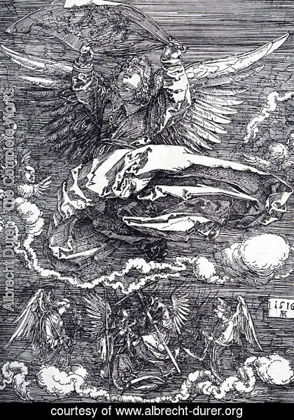 Albrecht Durer - Sudarium Spread Out By An Angel