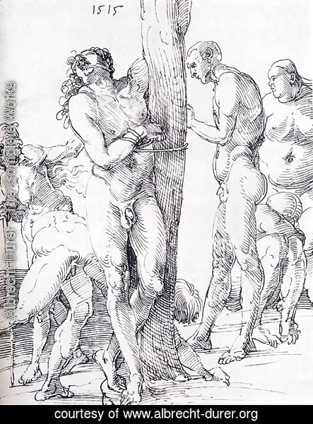 Albrecht Durer - Male And Female Nudes 1515
