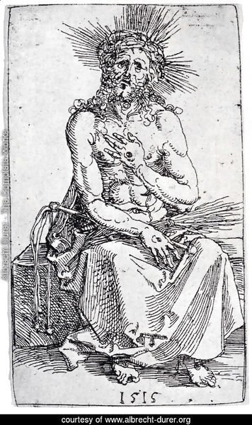 Man Of Sorrows  Seated