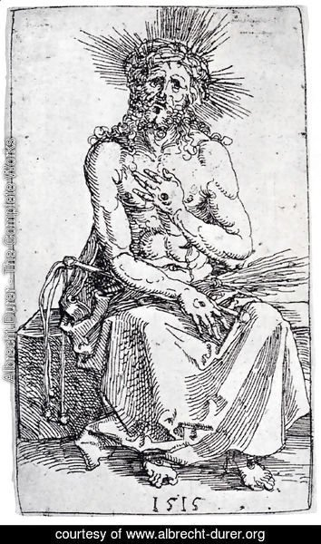 Albrecht Durer - Man Of Sorrows  Seated