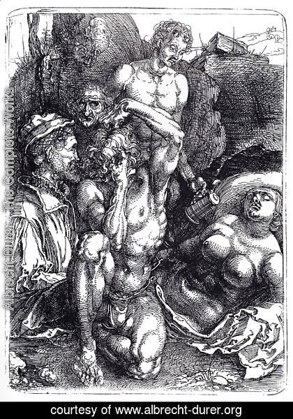 Albrecht Durer - The Desperate Man