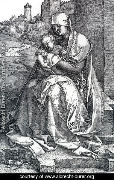 Albrecht Durer - Madonna By The Wall