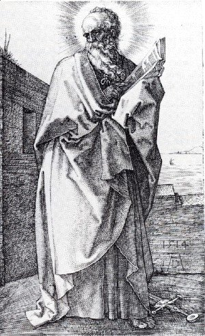 Albrecht Durer - St  Paul (Second State)