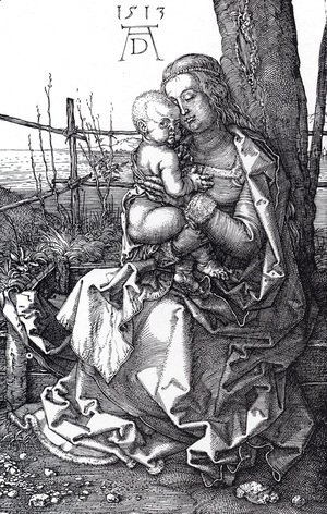 Albrecht Durer - Madonna By The Tree