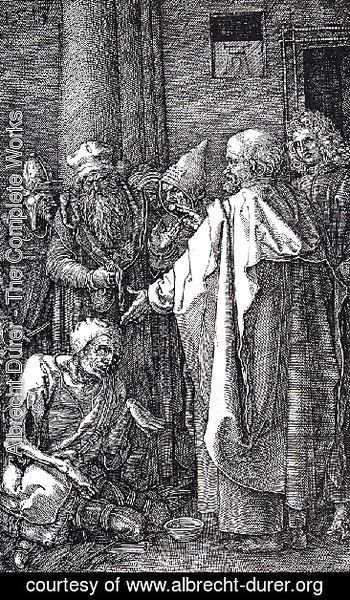 St  Peter And St  John Healing The Cripple
