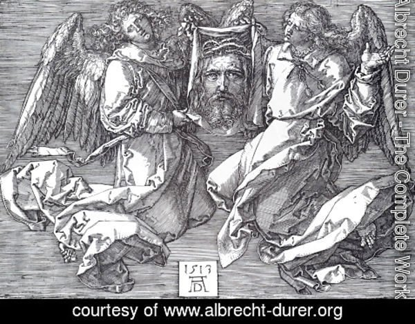 Albrecht Durer - Sudarium Displayed By Two Angels