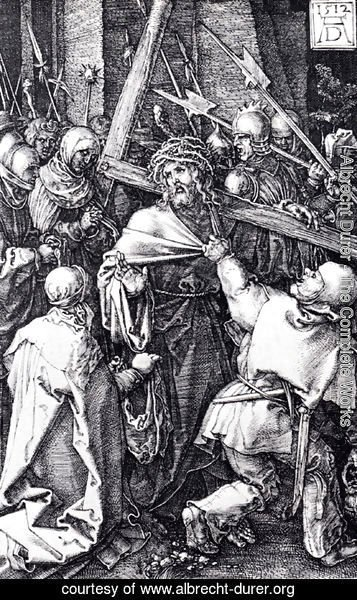 Albrecht Durer - Bearing Of The Cross (Engraved Passion)