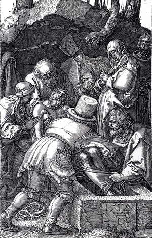 Albrecht Durer - Deposition (Engraved Passion)