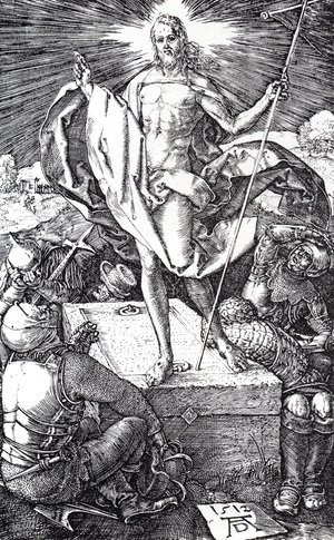 Albrecht Durer - Resurrection (Engraved Passion)