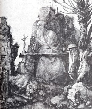 Albrecht Durer - St  Jerome By The Pollard Willow