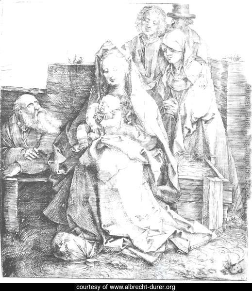 The Holy Family With St  John  The Magdalen And Nicodemus